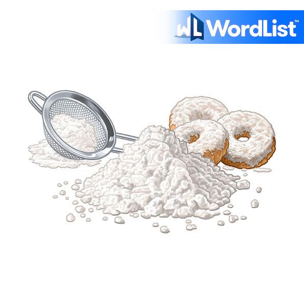 confectioners' sugar