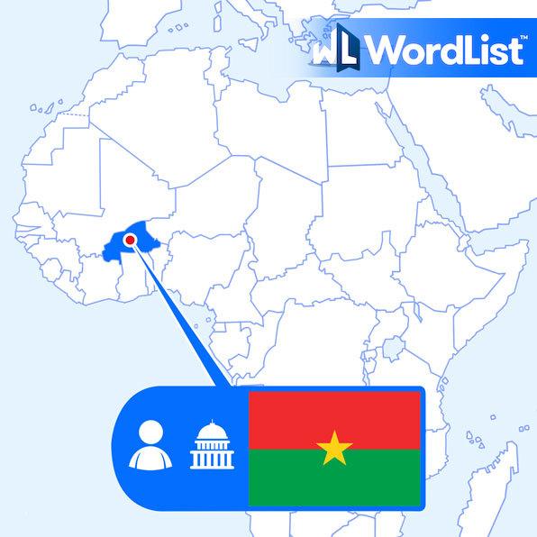 person from Ouagadougou