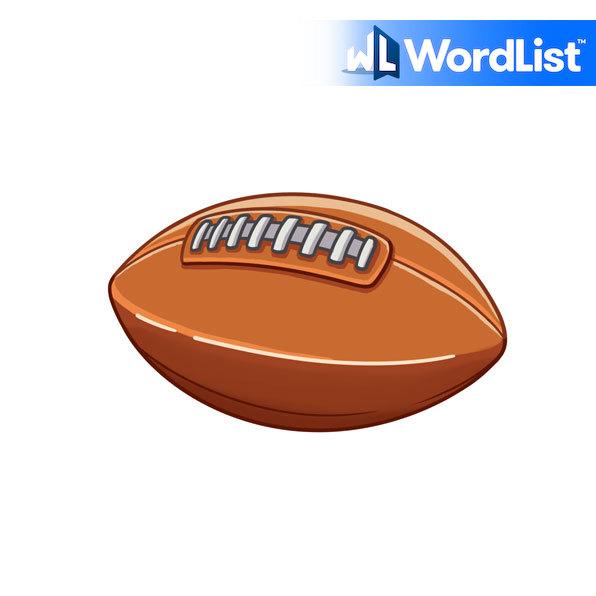pelota de fútbol americano